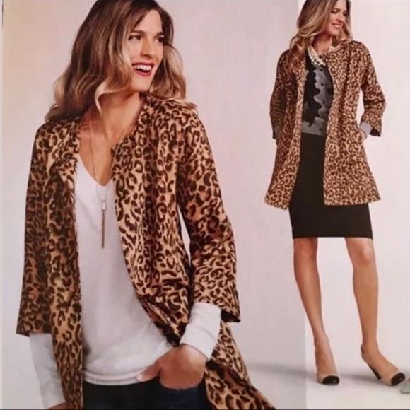 Carol Anderson By Invitation Leopard Estate Coat Poshmark
